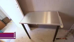 table rabattable pour cuisine fabriquer une table rabattable minutefacile com