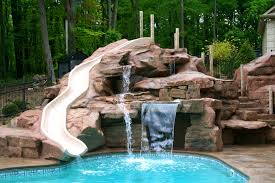 waterfalls for inground pools furniture waterfall pool prepossessing images about pools
