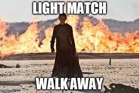 Walk Away Meme - image tagged in boom imgflip
