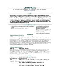 gallery of teacher resume sample teacher resume format