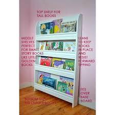 Nightstand Bookshelf Bookcase Small Nursery Bookcase Small Wooden Childrens Bookcase