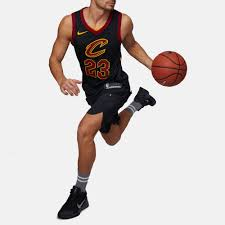 nike nba cleveland cavaliers lebron james authentic basketball