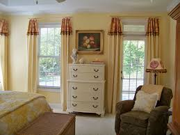 simple bedroom curtains design how high to hang the bedroom