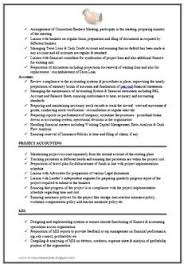 Accounting Resume Experience Chartered Accountant Resume Format Freshers Page 2 Cv Examples