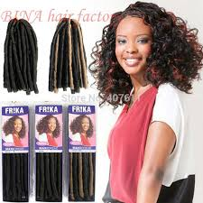 soft dred hair max dread braids synthetic curly hair extension kanekalon soft