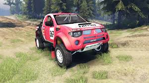 2015 mitsubishi rally car mitsubishi l200 triton for spin tires