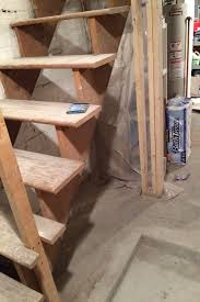 diy painted u0026 upgraded basement stairs an affordable option