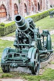 skoda siege social austro hungarian wwi siege howitzer 305 mm stock image image