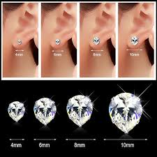 teardrop stud earrings 2017 korean stud earrings for women pop jewelry titanium steel