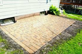 Home Depot Patio Pavers Patio Blockss Outside Pavers Large Concrete Paver Edging