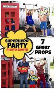 Superhero Photo Booth Superhero Photo Booth Props Includes Frame Batman Superman Wonder