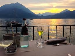 Cliffside Restaurant Italy by Varenna Lake Como Dinner At Vecchia Varenna By Laura Gurton