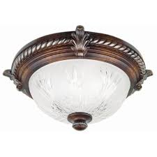 homeselects x light 2 light bronze flush mount ceiling light hton bay bercello estates 15 in 2 light volterra bronze