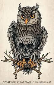 best 25 owl skull tattoos ideas on pinterest sugar skull owl