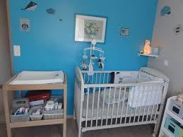 chambre enfant solde beige chambre nuit avec gris bleu murale canard decors garcon