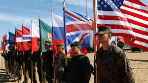 Us Military Flags The Importance Of Alliances For U S Security 2017 Index Of U S