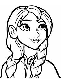 anna coloring pages funycoloring