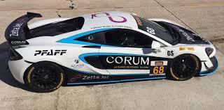 corum watches and zetta jet mclaren gt4s for the motorsports in