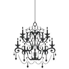 Chandelier Wall Decal Chandelier Wall Decal Clipart Clipart Kid Pertaining To Chandelier