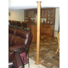 home design products anderson basement pole covers home depot porch column wraps home depot roman