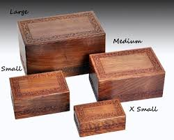 wooden urns for ashes buy solid rosewood handcarved cremation urn small