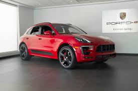 porsche red 2017 2017 porsche macan gts for sale in colorado springs co 17253