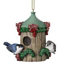 backyard birdhouse ornaments the danbury mint