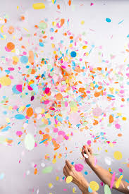 party confetti pattern party trend for 2017 trend 2 confetti balloons