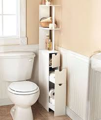 Towel Bathroom Storage Bathroom Storage Closet 4 Tiered Floating White Wooden Open