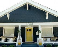 blue house white trim front door i really want this dark gray blue paint and bright white accents