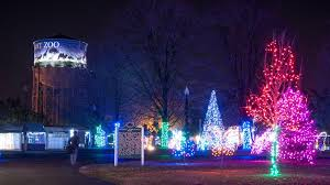 holiday lights tour detroit detroit zoo s wild lights holiday display starts next weekend