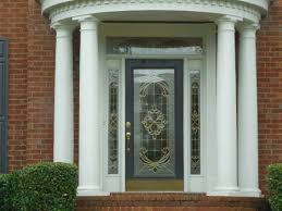 Metal Front Doors For Homes With Glass by How To Paint A Front Door Painting The Exterior Of A Glass Panel