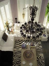 black and white zebra print rug stencil zebra print hairon