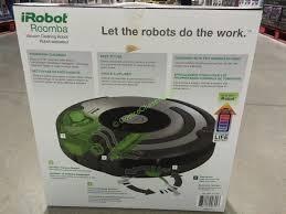 Costco Vaccum Cleaner Costco 877550 Irobot Roomba 655 Pet Series Vacuum Cleaning Robot