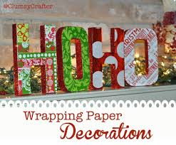 glitter wrapping paper wrapping paper letter decorations clumsy crafter