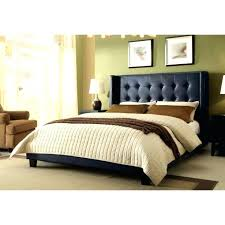 King Size Tufted Headboard Bed White Tufted Wingback Bed Button Tufted Headboard King Size