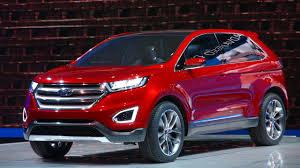 Ford Escape Colors 2016 - 2016 ford edge sel 2 0l awd suv red color acton koa com