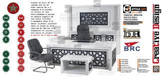 mobilier de bureau au maroc dcoration bureau design awesome dcoration table de salon blanc