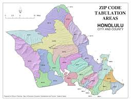 Map Of San Diego Zip Codes by Hawaii Zip Code Map Zip Code Map