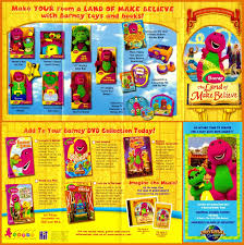 Images About Barneyandthebackyardgang Tag On by Barney The Land Of Make Believe Product Panphlet By Bestbarneyfan