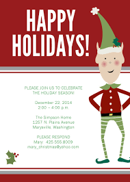 christmas party invitations templates plumegiant com