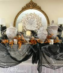 the fancy shack halloween chic mantle u0026 vintage market days
