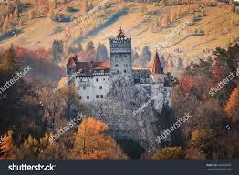 europe transylvania romania 13th century castle stock photo