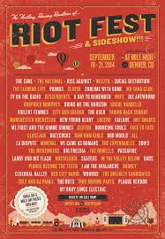Riot Fest Map Chicago by September Music Festival Poster Preview 30 Lineups For The Fall