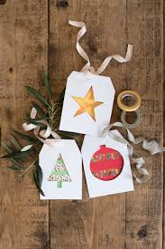 christmas paper crafts make washi tape christmas decorations