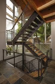 Industrial Stairs Design Industrial Home Design Staircase Modern With Industrial Staircase