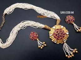 jewelry designs necklace sets images Pendant set artificial designer necklace set for women exporter jpg