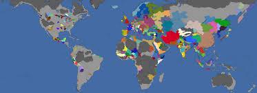 World Time Map Today U0027s World Overlayed Over Eu4 U0027s 1444 Eu4