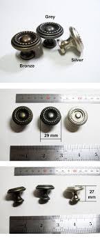 Drawer Pulls Kitchen Cabinet Knobs Cupboard Hardware Vintage Metal - Antique kitchen cabinet knobs