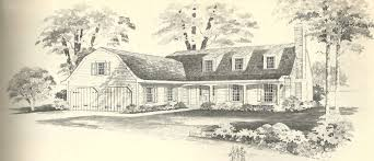 new england gambrel house plans house plans
